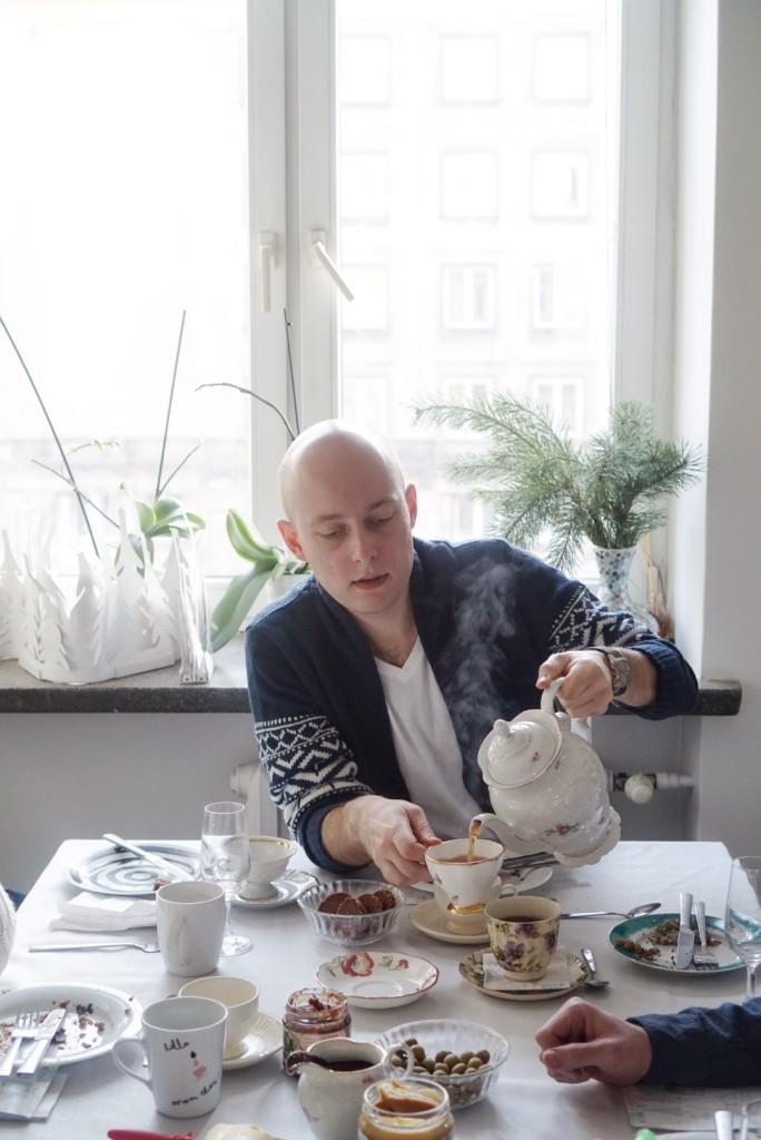 Amator adamowych croissantów i parującej herbaty, czyli Włodek