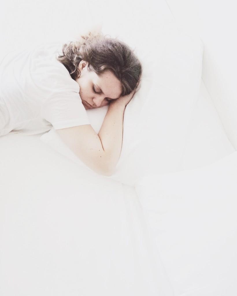Kocham spać. Najdroższe i cudowne łóżeczko!