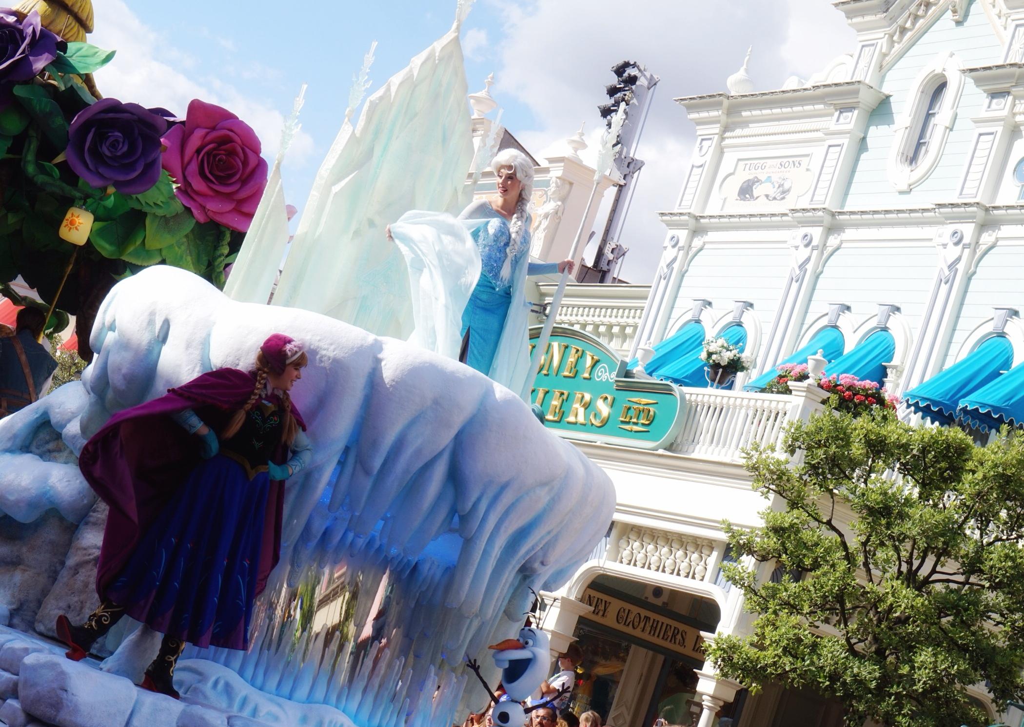 MerCarrie Disneyland - czyli gdzie każda Księżniczka pojechać powinna