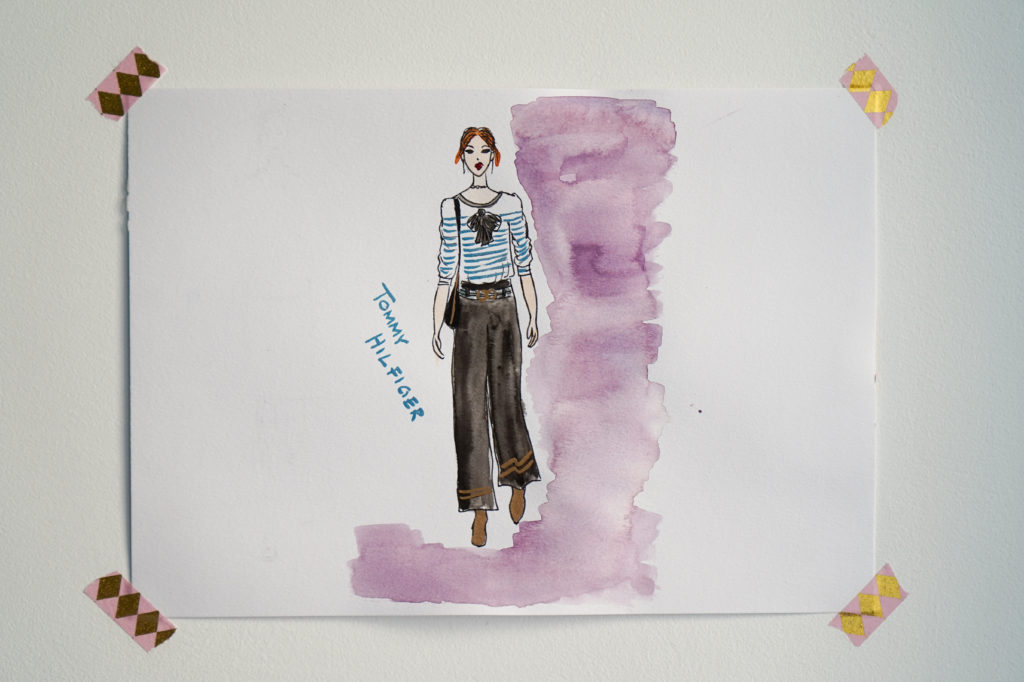 MerCarrie ilustracja Tommy Hilfiger