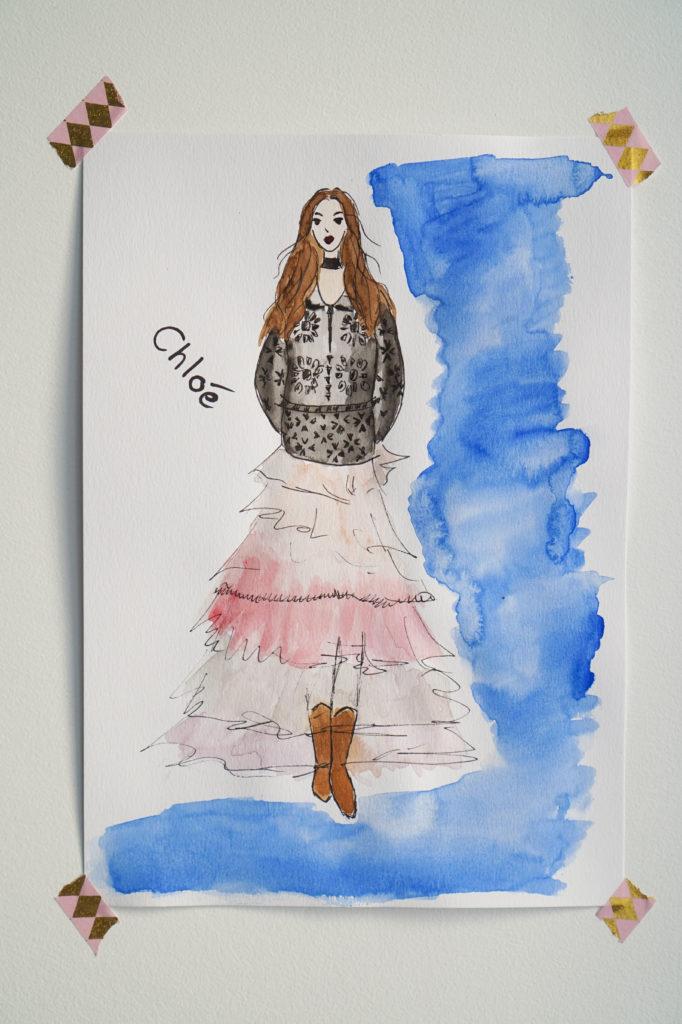 MerCarrie ilustracja Chole